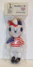 1994 FIFA WORLD CUP OFFICIAL TEAM MASCOT FOR KIDS FROM USA  SOCCER TEAM