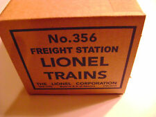Lionel #356 Operating Freight Station Reproduction Box