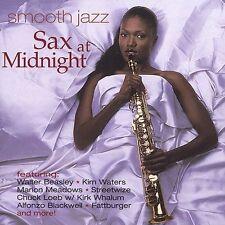 Smooth Jazz: Sax at Midnight, VARIOUS ARTISTS, , Very Good