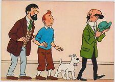 Carte Postale Tintin - Les aventures de Tintin n°7. Editions YVON 1967