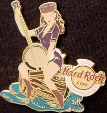 Hard Rock Cafe Niagara Falls Ny 2006 Sexy Banjo Girl on Barrel Water Pin #33828