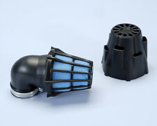 Polini Filtro Aria a Cono 203.0094 Air Box D. 37 Inclinato a 90° Nero Universale