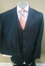 Jones New York Men's Navy Blue 96% Wool  3 button 2 Piece Suit (40 R)