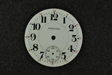 Vintage 16 Size Hamilton Double Sunk Pocket Watch Dial