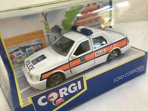 CORGI 91870 1/36 ? Ford Cosworth   POLICE         BOXED