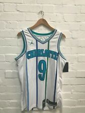 Charlotte Hornets Nike Jordan Men's NBA Association Jersey - M - No Name 9 - New