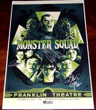 ANDRE GOWER, ASHLEY BANK, RYAN LAMBERT, SIGNED THE MONSTER SQUAD 12X18 POSTER!!!
