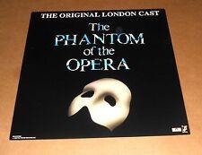 The Phantom of the Opera Poster Flat 1993 Promo 12x12 The Original London Cast