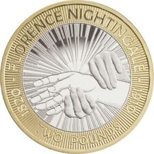 £2 TWO POUND Coin Florence Nightingale 2010 coin hunt
