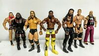 Lot Of Jakks Pacific WWE WWF 7 Wrestling Action Figures All Different