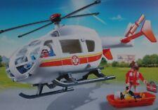 Playmobil -- Pièce de rechange -- Hélicoptère médical 4222 --