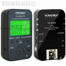 Yongnuo YN-622N + YN-622N-TX Kit Wireless TTL Flash Trigger Controller for Nikon