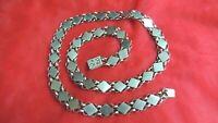 Gorgeous Vintage Antique Sterling Necklace