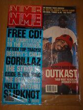 NME 2001 JUN 16 OUTKAST GORILLAZ STROKES KID ROCK PAMMY