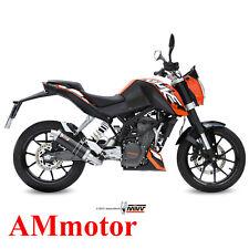 Impianto Completo Mivv Ktm 125 Duke 2011 11 Scarico Marmitta Gp Black Moto