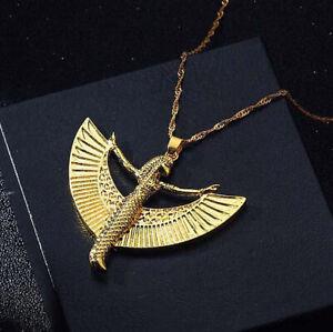 Ancient Egyptian Isis Goddess Egypt Osiris Pharaoh Women Pendant Necklace Chain