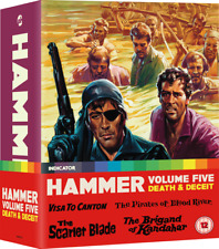 Hammer Volume 5 Death & Deceit and Vol Five Limited Edition Region B Blu-ray