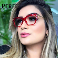 Women Fashion Cat Eye Style Optical Glasses Clear Lens Myopia Glasses Frame New