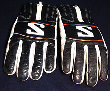 SALOMON Alpine Ski Winter Gloves ALL LEATHER Thinsulate Foam Mens Sz. Medium