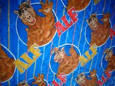 ALF vintage 1987 large BLANKET 80 by 113 inches throw