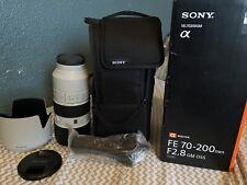 Sony FE 70-200mm f/2.8 GM OSS Full Frame E-Mount Lens