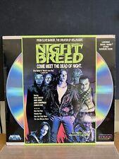 Night Breed Laserdisc