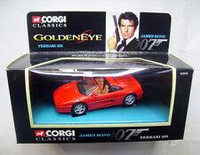 James Bond 007 - FERRARI 355 - GOLDENEYE - Corgi Toys