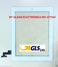 TOUCH SCREEN Apple iPad 2 A1395 A1396 A1397 WiFi e 3G VETRO + TASTO HOME Bianco