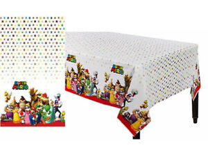 Super Mario Brothers Plastic TableCover Birthday Decoration Party Supplies Favor