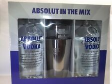 Absolut Vodka Giftpack In The Mix Shaker 2 x 700 ml 40 %vol