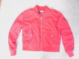 TOMMY HILFIGER schöne rote Damen Jacke-Blouson Größe L wNEU