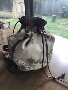 Lucky Brand Drawstring Bucket Backpack