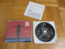 EROS RAMAZZOTTI L'aurora 1996 EUROPEAN collectors CD single + german infosheet