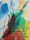 Paul Jenkins Original Lithograph Atelier Mourlot Bank Street New York City 1967