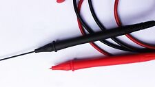 1 Pair x Retractable nib 4mm Digital Multimeter Pen soft Cable adjustable Probes