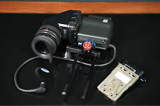 Sony HDVF-C35W Color Viewfinder w/ Rotation Bracket Extension & Chrosziel Mount