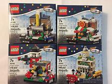 LEGO 2014 ToysRus Bricktober Mini Modular Full Set 40180 40181 40182 40183