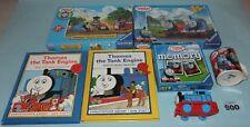 Thomas Tank Engine & Friends bundle: jigsaws, books, game, model & mug. Lot 900