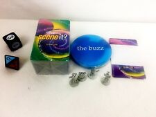 Disney Scene It Board Game Replacement Parts Tokens Dice Buzz & Trivia Cards A4