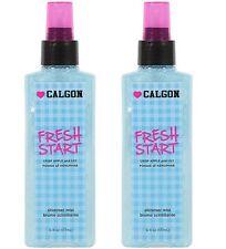 Lot of 2 New Calgon Fresh Start Shimmering Mist Crisp Apple and Lily 6 fl oz x 2