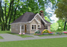 Custom House Home Building Plans 2 bed Cottage 985 sf--PDF file