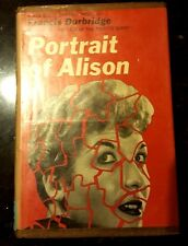 PORTRAIT OF ALISON 1st US 1962 Francis Durbridge Mystery HB DJ Dodd Red Badge