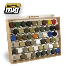Ammo of Mig Jimenez Tamiya GSI Mr. Color Paint Jar STORAGE SYSTEM #8014