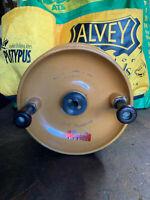 Vintage Alvey Surf Champion Yellow Fibreglass Fishing Reel, Spool Alvey Parts