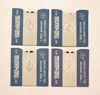 Vintage Viewmaster Reels - Sawyer's Yellowstone Series 1948: 126, 127, 128, 129