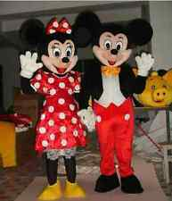 Hot Sale! Mickey and Minnie Mouse Adult Mascot Costume Fancy Dress EPE Head