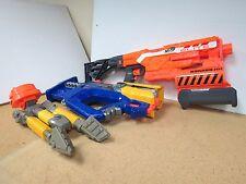 Nerf N-Strike lot 2 Guns and Tri-Pod Elite Demolisher 2-in-1 used 1967 K