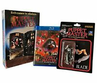 Puppet Master Vhs Retro Big Box Blu-Ray/Dvd Set Collection (2disc) [1989] [NTSC]