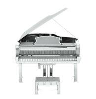 Fascinations Metal Earth Grand Piano 3D Laser Cut Steel Instrument Model Kit