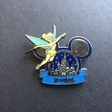 DLR - Sleeping Beauty Castle in Mickey Ears - Tinker Bell Disney Pin 58721
